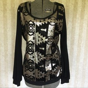 Maurices Sequined Top